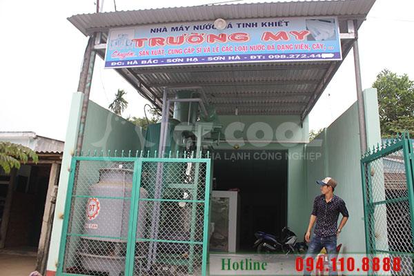 Lap dat may lam da tinh khiet 5T tai Quang Ngai 1
